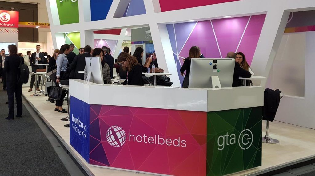 Hotelbeds Group Stand ITB 2018